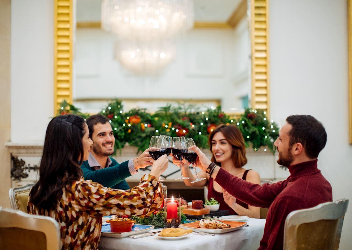 christmas restaurant doney